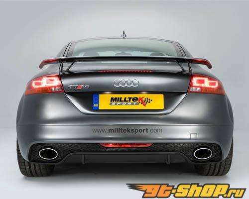 Milltek Non Resonated Выхлоп выхлоп Audi TTRS 07-12