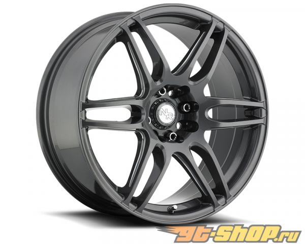 Niche NR6 M105 Anthracite & Milled Spoke Диски 18x8 5x108 | 5x114.3 +40mm