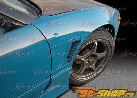 Передние крылья на Nissan Silvia S13 1989-1993 D1