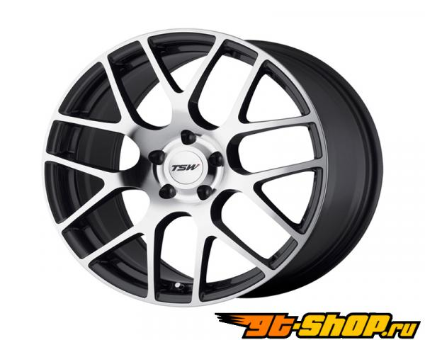 TSW Nurburgring Литые диски 19X8.5 5-112 32 Gunmetal Machined Face