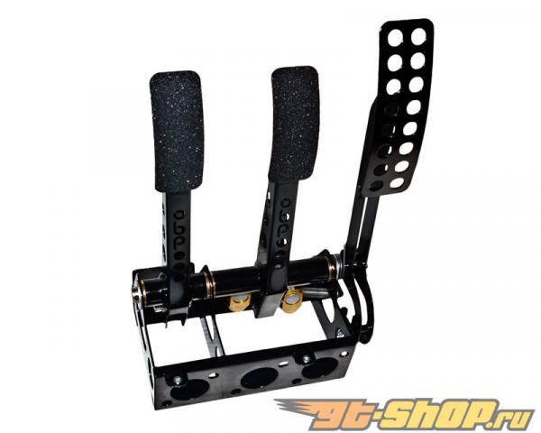 obp Motorsport Pro-Race Floor Mounted 3 Pedal Hydraulic  Сцепление  тормозной Cockpit Fit Pedal Box