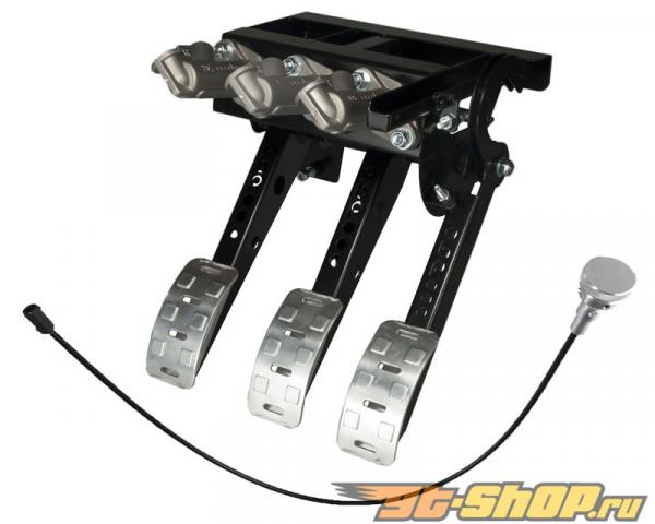 obp Motorsport Pro-Race Top Mounted 3 Pedal Hydraulic  Сцепление  Cockpit Fit Pedal Box with Master Cylinders