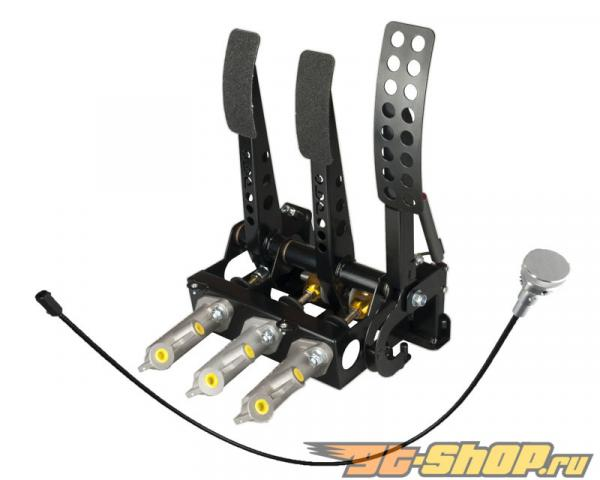 obp Motorsport Pro-Race Floor Mounted Hydraulic  Сцепление  Cockpit Fit Pedal Box with Master Cylinders
