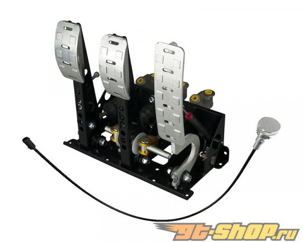 obp Motorsport Pro-Race 3 Pedal Hydraulic  Сцепление  тормозной Bias Performance Pedal Box with Dual Signal Potentiometer