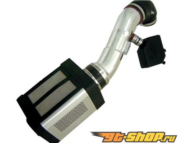 Injen Power Flow Air Intake System Polished w/ Power Box Nissan Titan 5.6L 04-12