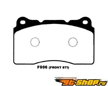 Project Mu Type HC+ передний  тормозной Pad Subaru WRX STI Brembo 04-09