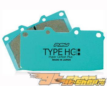 Project Mu Type HC+ задний тормозной Pad Mitsubishi EVO VIII IX Brembo 03-09