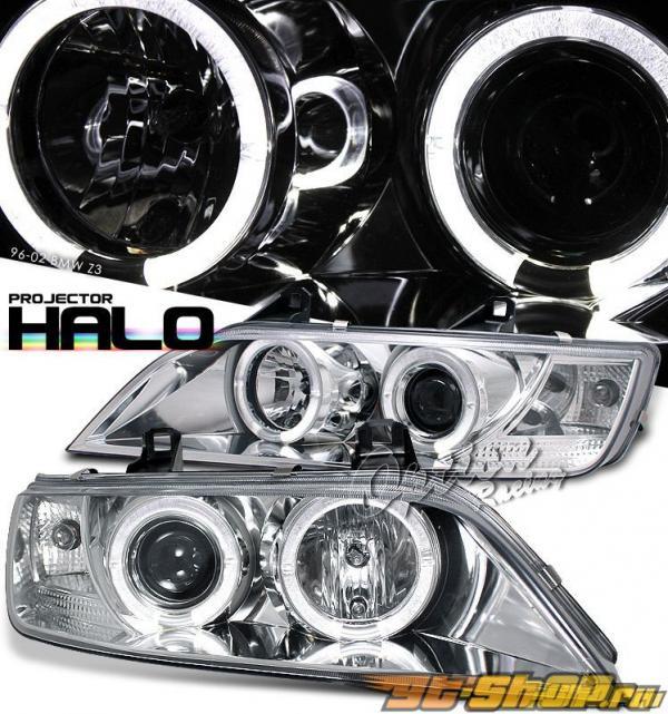 Передняя оптика для BMW 96-02 HALO PROJECTOR Хром