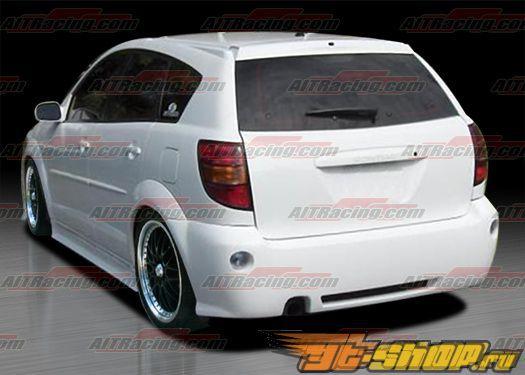 Задний бампер для Pontiac Vibe 2003-2008 GRS