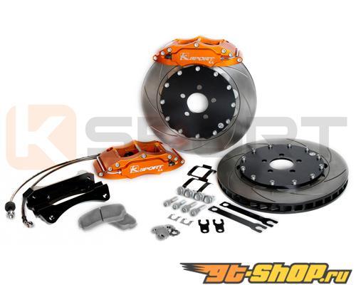 Ksport ProComp 4 поршневые 14in задний Большой тормозной комплект Infiniti FX35 03-08