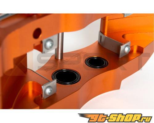 Ksport ProComp 4 поршневые 11in задний Большой тормозной комплект Honda S2000 00-09