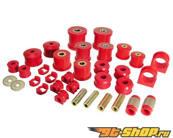 Prothane Красный Total комплект without задний Upper Control Arm Bushings Acura Integra 94-01