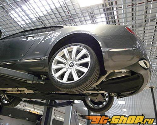 Quicksilver стальной нержавеющий глушитель Супер-спорт на Bentley Continental GT Speed 13+