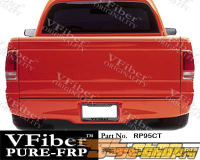 Накладка на задний бампер для GMC Yukon 95-99 Roll VFiber