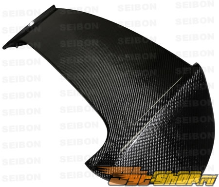 Карбоновый спойлер Seibon STI Стиль на Subaru Impreza | WRX | STi Хэтчбек 2008-2009