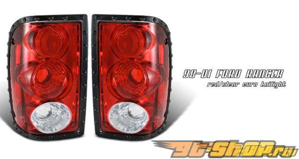Задняя оптика на Ford Ranger 01-05 ALTEZZA Красный