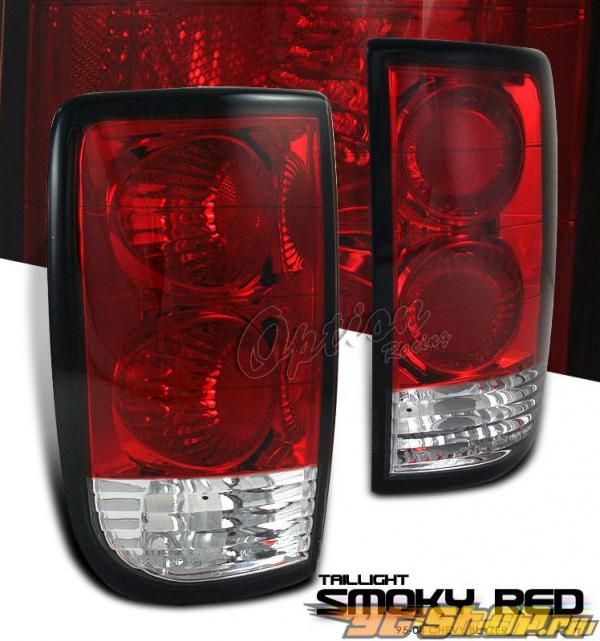Задние фонари для Chevrolet Blazer 95-04 Тёмный красный