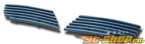 Решётка радиатора Красный Line на Saturn Vue 2006-2008