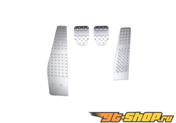 Schnell 4 части Aluminum Pedal Set M/T Porsche 997 Carrera 05-08