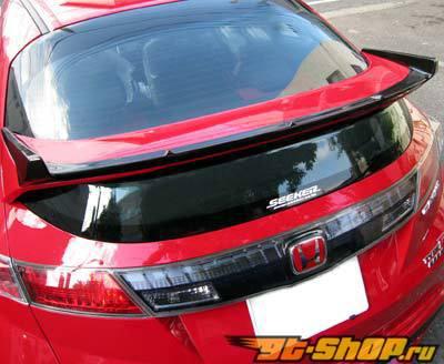 SEEKER задний Wing|задний Спойлер 01 Type D - Brand Painted Honda Civic Type-R FN2 (Euro) 09-10
