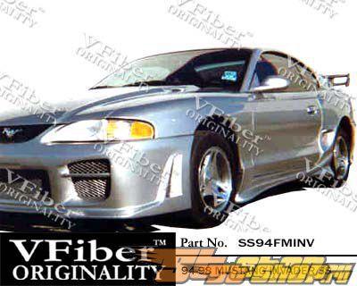 Обвес по кругу для Ford Mustang 94-98 Invader VFiber