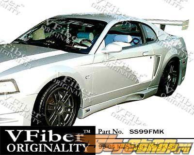 Обвес по кругу для Ford Mustang 99-04 Type-K VFiber