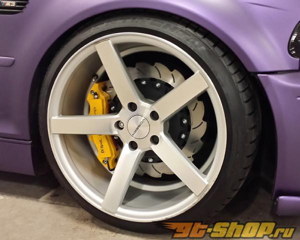 WP Pro Карбон Edition Slotted 12 поршневые EVO12 передний  Большой тормозной комплект Nissan 370Z 09-15