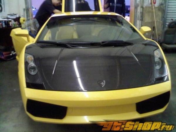 Карбоновый капот Seibon стандартный Стиль для Lamborghini Gallardo 03-09