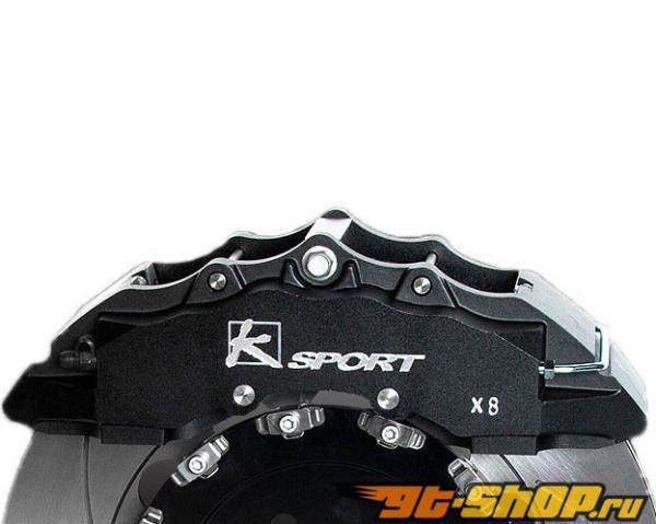 Ksport SuperComp 8 поршневые 17in передний  Большой тормозной комплект Volvo C70 06+