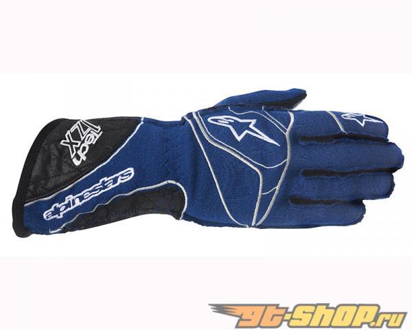 Alpinestars Tech 1 ZX Glove 712 Синий Чёрный Белый
