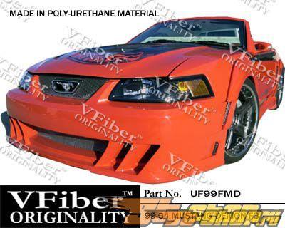 Передний бампер на Ford Mustang 99-04 Demon Полиуретан