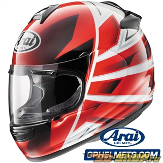 Arai Vector-2 Hawk Красный Шлем SM