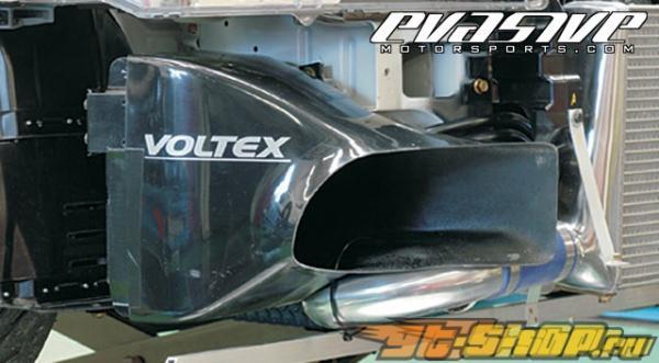 Voltex передний  маслокулер Duct - Mitsubishi EVO VIII / IX 03+