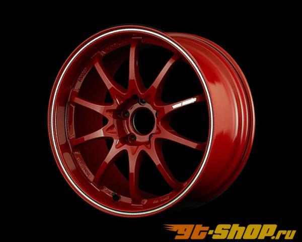 Volk Racing CE28RT Диски Burning Красный w| Diamond Cut Lip 17X9 5x114.3