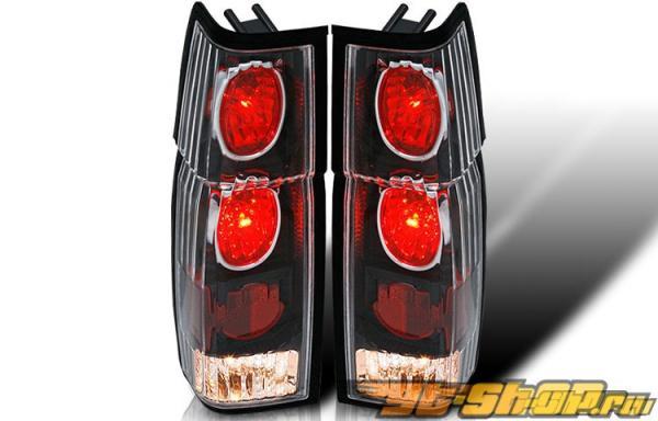Задние фонари на  Nissan Hardbody 86-94 ALTEZZA Чёрный