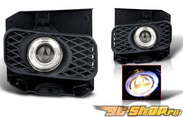 Противотуманная оптика для Ford F150 99-03 Halo Projector Тёмный
