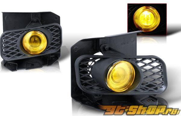Противотуманная оптика для Ford F150 99-03 Halo Projector Жёлтый