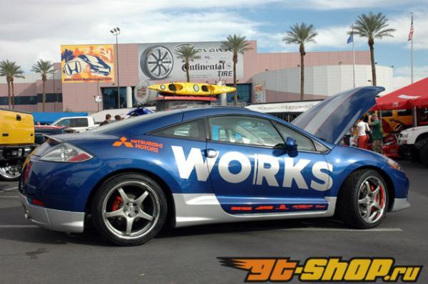 WORKS Ride Springs (06+ Eclipse) (w/o Bumpstops) [WRKS-220.120-W-BMP-STP]
