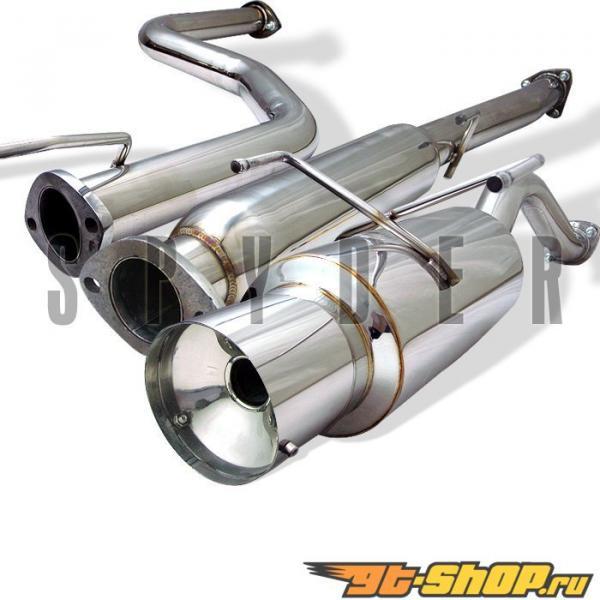 Spyder Выхлопная система Honda Civic All 92-95 Civic Ex 2 Седан 96-00