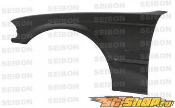 Карбоновые крылья на BMW E46 99-07 Seibon