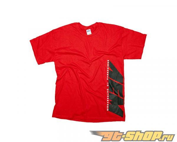 AEM Футболка  Classic Красный - XL