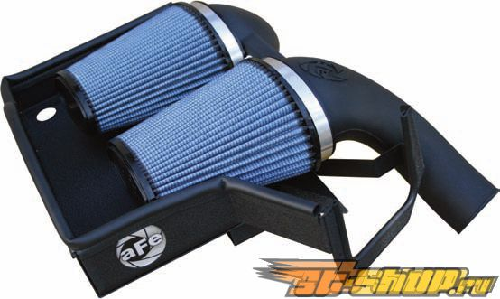aFe Stage 2 Intake System with Pro-5R incl Scoops BMW 3-Series 335i 07-11
