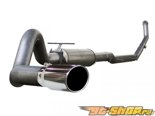 aFe Aluminum Turboback выхлоп Ford F-250 7.3L V8 Power Stroke 99-03