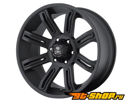 Американские Outlaw Scorpion 20X9 5x139.7 10mm Matte Чёрный