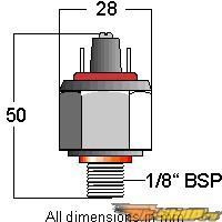 Aquamist Adjustable Pressure Switch (current min 10) универсальный