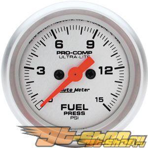 Autometer Ultra Lite 2 1/16 давления топлива 0-15 Датчик