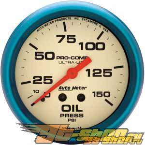 Autometer Ultra Nite 2 5/8 давление масла 0-150 Датчик