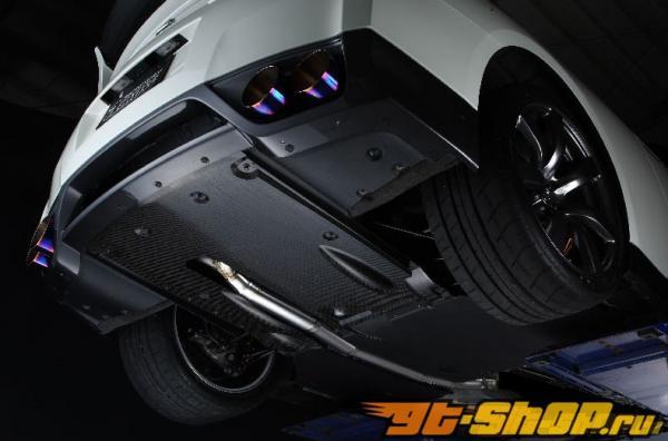 Amuse R1 Titan Extra STTI выхлоп Nissan Skyline R35 GT-R 09-12