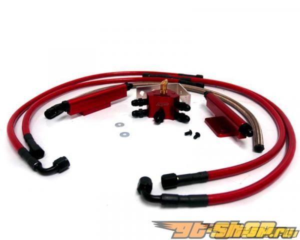 Agency Power Fuel Rail комплект Subaru WRX STI 07-11