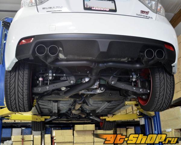 Agency Power нержавеющий Выхлоп выхлоп w/o Muffler Subaru WRX STI Hatch 08-12